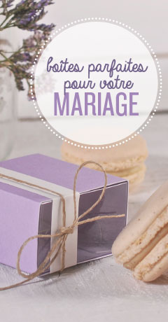 boites mariages