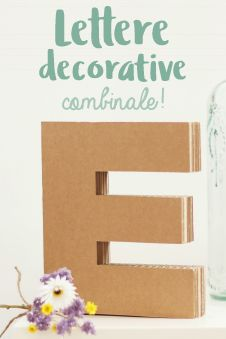 lettere decorative