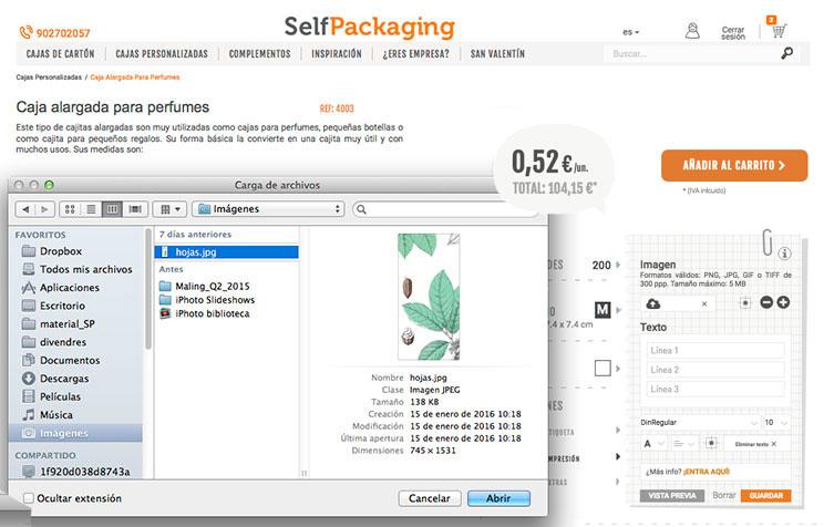 Como imprimir cajas personalizadas 2