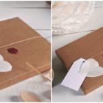 Invitaciones de boda con sellos de lacre