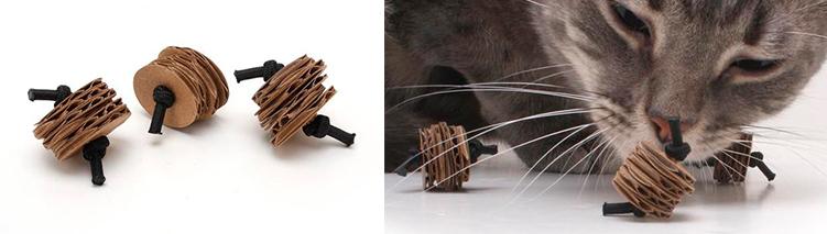 juguetes de carton para gatos 9