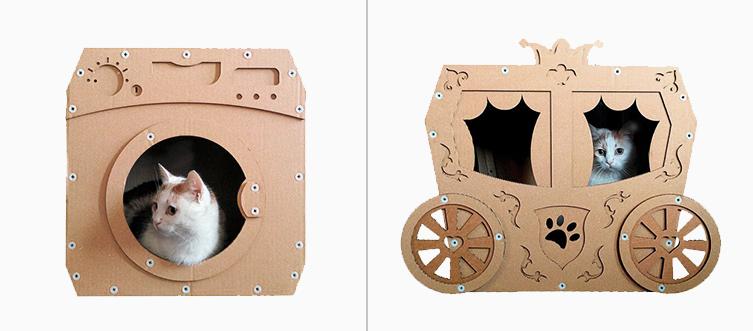 juguetes de carton para gatos 15