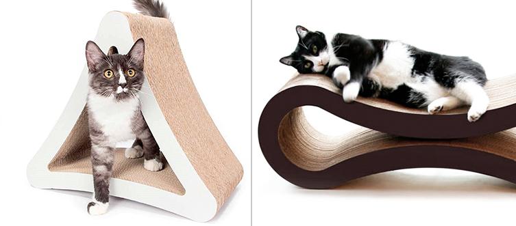 juguetes de carton para gatos 2