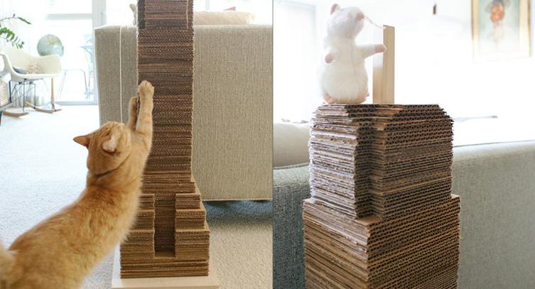 juguetes de carton para gatos 3