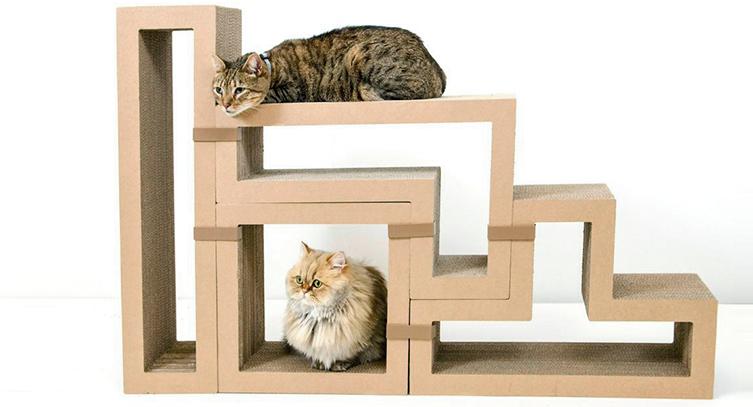juguetes de carton para gatos 6