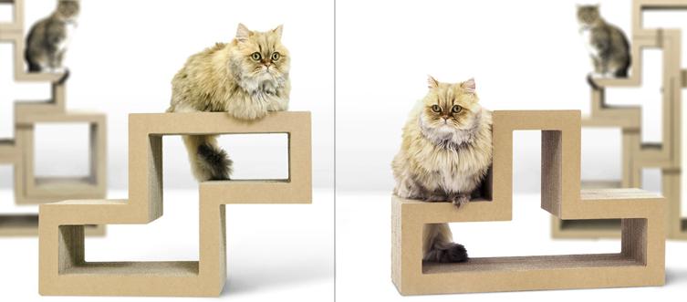 juguetes de carton para gatos 8