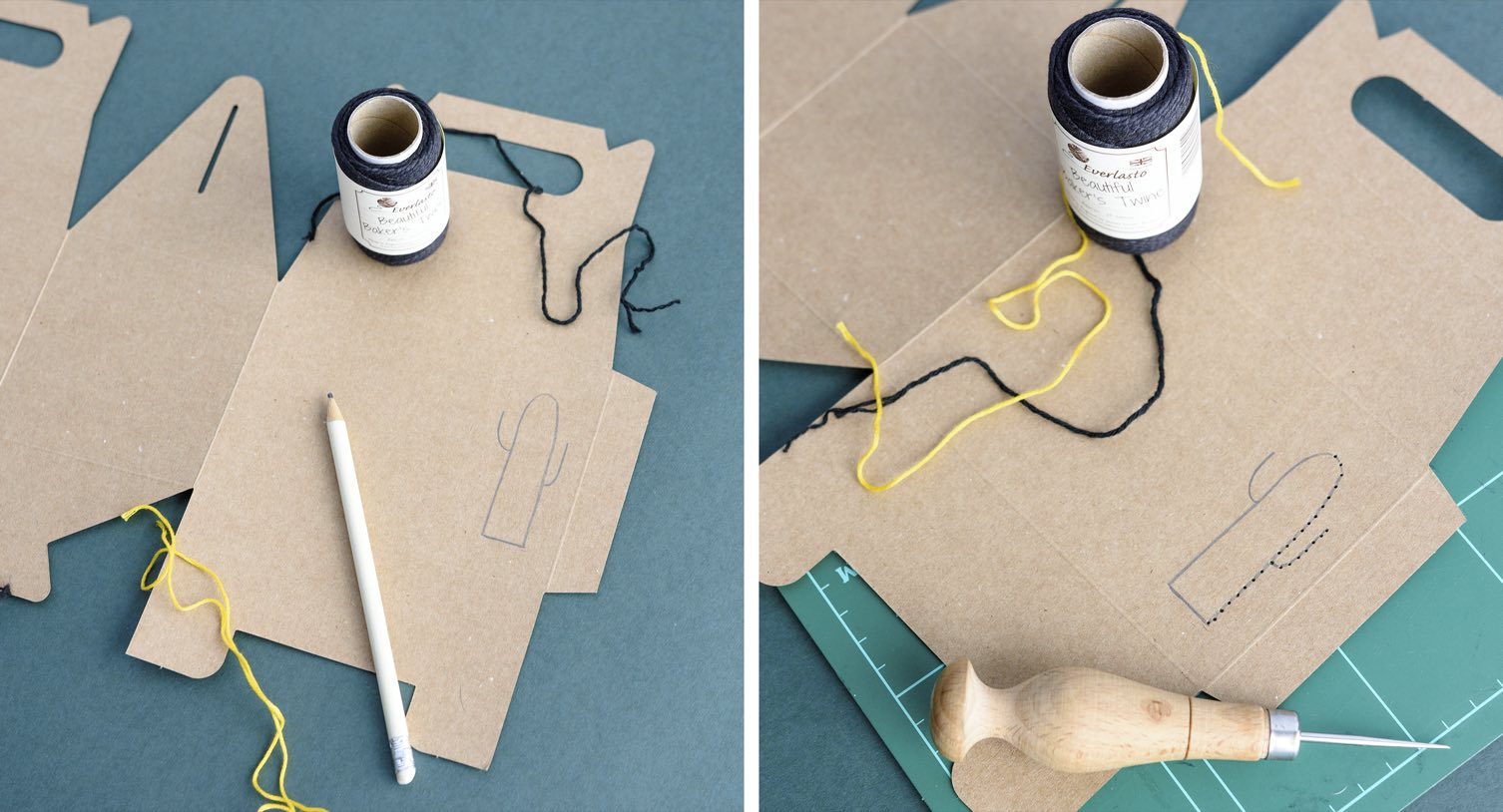 Cajita costurero bordada 1