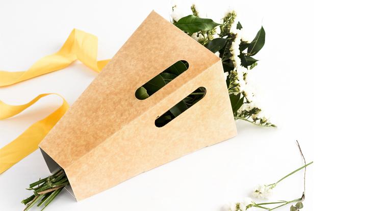 Caja para flores y ramos