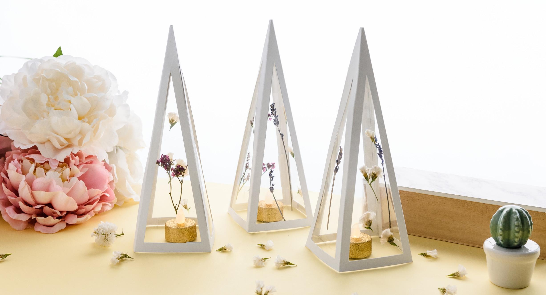 Como hacer una piramide botánica