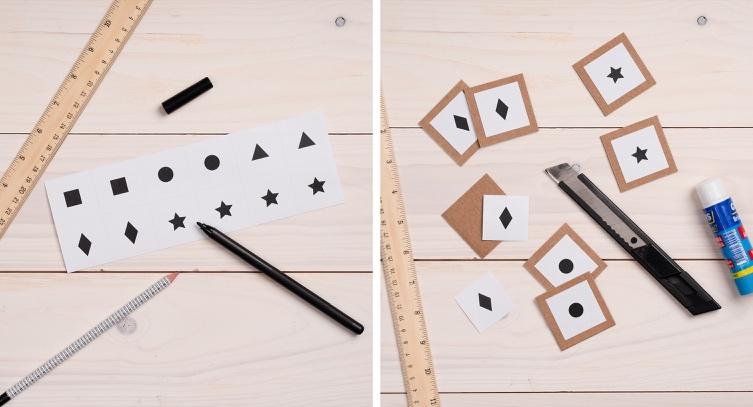 Crear un juego de niños con material reciclado