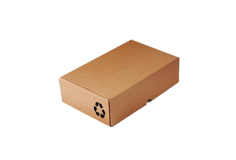 Caja cartón reciclado