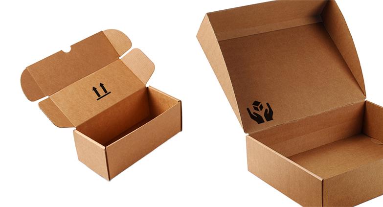Cajas de envío cartón