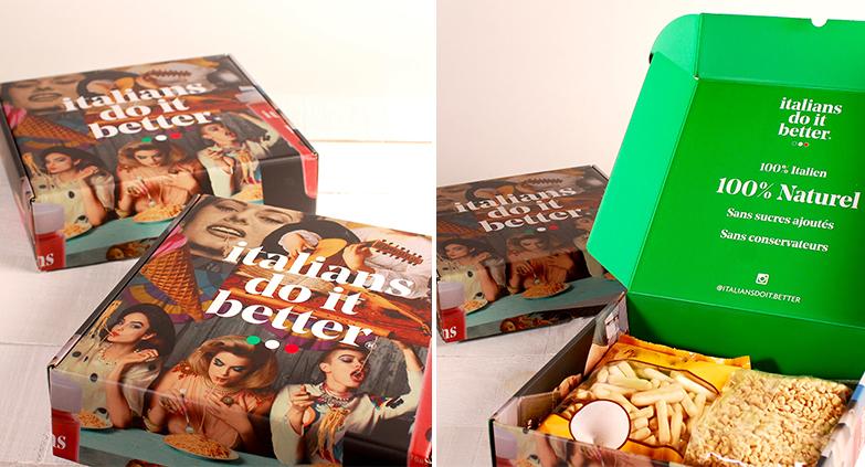 Caja de cartón personalizada