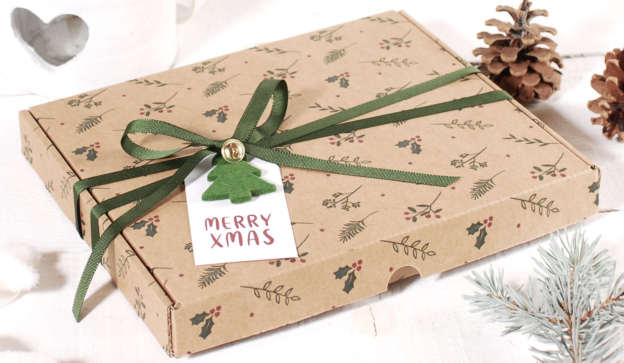 Tendencias en decoración de cajas de carton para Navidad
