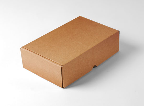 Caja rectangular automontable